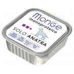 Корм Monge Dog Monoproteico Solo консервы для собак паштет из утки, 150 г
