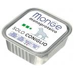 Корм Monge Dog Monoproteico Solo консервы для собак паштет из кролика, 150 г