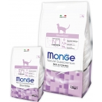 Корм Monge Cat Sterilised для стерилизованных кошек, 1.5 кг