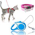 Товары для кошек - Шлейки и ошейники
