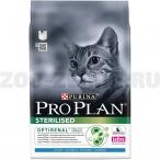 Корм Pro Plan Sterilised для стерилизованных кошек с кроликом, 400 г