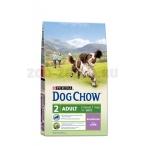 Корм Dog Chow Adult Lamb для взрослых собак с ягненком, 14 кг