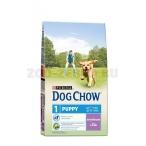 Корм Dog Chow Puppy Lamb для щенков до 1 года с ягненком, 14 кг