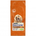 Корм Dog Chow Mature Adult для собак старше 5 лет с ягненком, 14 кг