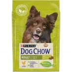 Корм Dog Chow Adult Chicken для взрослых собак с курицей, 2.5 кг