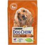 Корм Dog Chow Mature Adult для собак старше 5 лет с ягненком, 2.5 кг