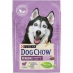 Корм Dog Chow Senior для собак старше 9 лет с ягненком, 2.5 кг