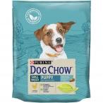 Корм Dog Chow Small Breed Puppy для щенков мелких пород до 1 года с курицей, 800 г
