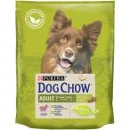 Корм Dog Chow Adult Lamb для взрослых собак с ягненком, 800 г