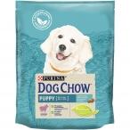 Корм Dog Chow Puppy Lamb для щенков до 1 года с ягненком, 800 г