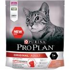 Корм PRO PLAN Original OPTI SENSES (комплекс для поддержания органов чувств) для взрослых кошек, с лососем, 400 г