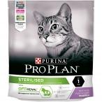 Корм PRO PLAN Sterilised OPTI RENAL (комплекс для поддержания здоровья почек) для стерилизованных кошек, с индейкой, 400 г
