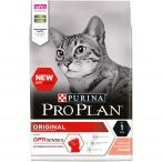 Корм Pro Plan Original для взрослых кошек с лососем, 1.5 кг