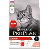Корм PRO PLAN Original OPTI SENSES (комплекс для поддержания органов чувств) для взрослых кошек, с лососем, 1.5 кг