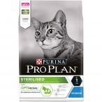Корм Pro Plan Sterilised для стерилизованных кошек с кроликом, 3 кг