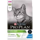 Корм PRO PLAN Sterilised OPTI RENAL (комплекс для поддержания здоровья почек) для стерилизованных кошек, с кроликом, 3 кг