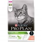 Корм Pro Plan Sterilised для стерилизованных кошек с лососем, 3 кг