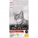 Корм Pro Plan Original для взрослых кошек с курицей, 10 кг