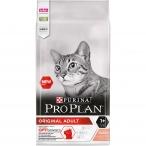 Корм PRO PLAN Original OPTI SENSES (комплекс для поддержания органов чувств) для взрослых кошек, с лососем, 10 кг