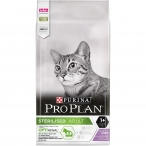 Корм Pro Plan Sterilised для стерилизованных кошек с индейкой, 10 кг