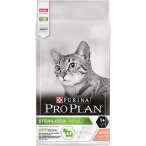 Корм Pro Plan Sterilised для стерилизованных кошек с лососем, 10 кг