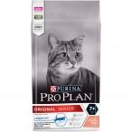 Корм PRO PLAN Original Senior 7+ LONGEVIS (комплекс для сохранения и продления жизни) для кошек старше 7 лет, с лососем, 1.5 кг