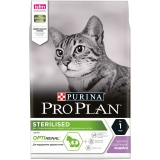 Корм PRO PLAN Sterilised OPTI RENAL (комплекс для поддержания здоровья почек) для стерилизованных кошек, с индейкой, 3 кг