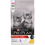 Корм Pro Plan Original Kitten для котят в возрасте от 6 недель до 1 года с курицей, 1.5 кг