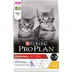 Корм PRO PLAN Original KITTEN OPTI START (комплекс для поддержания природного иммунитета) для котят до 12 месяцев, с курицей, 3 кг