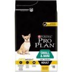 Корм Pro Plan Small and Mini Light/Sterilised для собак мелких и карликовых пород до 10 кг c избыточным весом или стерилизованных, с курицей, 3 кг