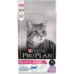 Корм PRO PLAN Delicate Senior 7+ LONGEVIS (комплекс для сохранения и продления жизни) для кошек старше 7 лет с чувствительным пищеварением, с индейкой, 1.5 кг