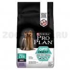 Корм Pro Plan Small and Mini Grain Free (беззерновой) для собак мелких и карликовых пород до 10 кг с чувствительным пищеварением, с индейкой, 7 кг