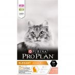 Корм PRO PLAN Elegant OPTI DERMA (комплекс для поддержания здоровья кожи и красоты шерсти), для взрослых кошек, с лососем, 10 кг
