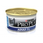 Корм Pro Plan Adult 7+ для кошек старше 7 лет с тунцом, 85 г