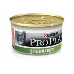 Корм Pro Plan Sterilised для стерилизованных кошек с тунцом, 85 г