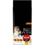 Корм PRO PLAN Medium OPTI BALANCE (комплекс, учитывающий возраст и телосложение) для собак средних пород, с курицей, 14 кг