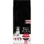 Корм Pro Plan Puppy Medium Sensitive Skin для щенков средних пород с чувствительной кожей с лососем, 12 кг