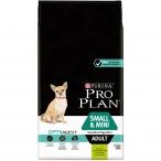 Корм Pro Plan Small and Mini Sensitive Digestion для собак мелких и карликовых пород до 10 кг с чувствительным пищеварением с ягненком, 7 кг