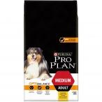 Корм Pro Plan Medium для собак средних пород 10-25 кг с курицей, 7 кг