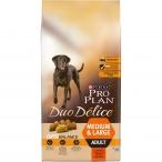 Корм Pro Plan Duo Delice Medium and Large для собак с говядиной, 10 кг
