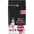 Корм Pro Plan Puppy Medium Sensitive Skin для щенков средних пород с чувствительной кожей с лососем, 1.5 кг