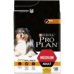 Корм Pro Plan Medium для собак средних пород 10-25 кг с курицей, 3 кг