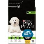 Корм Pro Plan Puppy Large Robust для щенков крупных пород с мощным телосложением с курицей, 3 кг