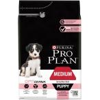 Корм Pro Plan Puppy Medium Sensitive Skin для щенков средних пород с чувствительной кожей с лососем, 3 кг