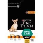 Корм PRO PLAN Small & Mini OPTI BALANCE (комплекс, учитывающий возраст и телосложение) для собак малых и миниатюрных пород, с курицей, 3 кг