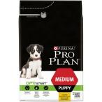 Корм Pro Plan Puppy Medium для щенков средних пород с курицей, 3 кг