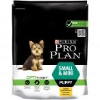 Корм Pro Plan Puppy Small and Mini для щенков мелких и карликовых пород с курицей, 700 г