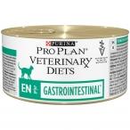 Корм PRO PLAN Veterinary diets EN Gastrointestinal для кошек при расстройствах пищеварения, 195 г