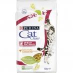 Корм Cat Chow Urinary Tract Health для кошек, для профилактики МКБ, с домашней птицей, 1.5 кг