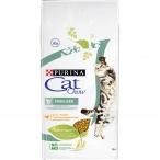 Корм Cat Chow Sterilised для стерилизованных кошек с домашней птицей, 15 кг